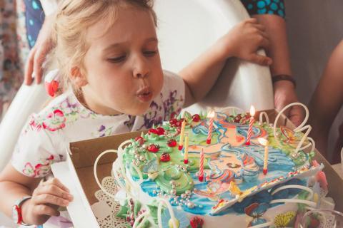 Детский день рождения в планетарии